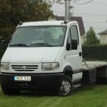 Renault Mascott 35.150 2.8 TD 4.130mm 3,5 T vonóhorog