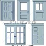Eladók német, jó minőségű, bontott, fa és műanyag termopan ablakok, ajtók